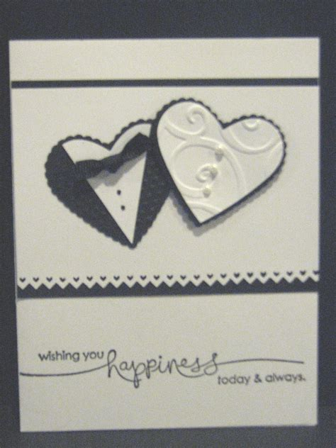 Handmade Greeting Cards For Wedding - wishing you happiness today and always wedding handmade