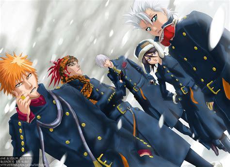anime wallpaper hd tablet bleach winter bleach anime hd background for tablet