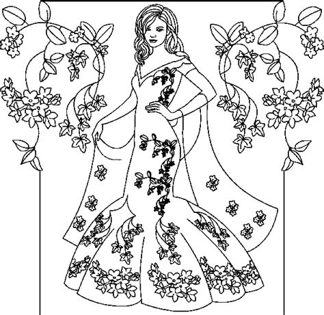 Princess Coloring Pages For princess coloring pages coloringpagesabc