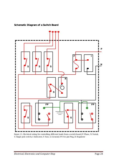 88 electric switch board diagram electrical