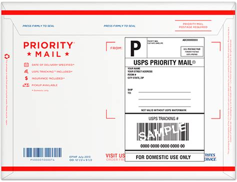 usps mailing label design guidelines wholesale priority mail forever prepaid flat rate envelope