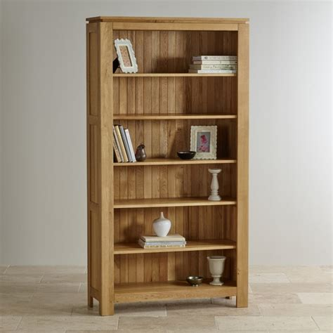 Oak Book Shelf by Galway Solid Oak Bookcase Living Room Furniture