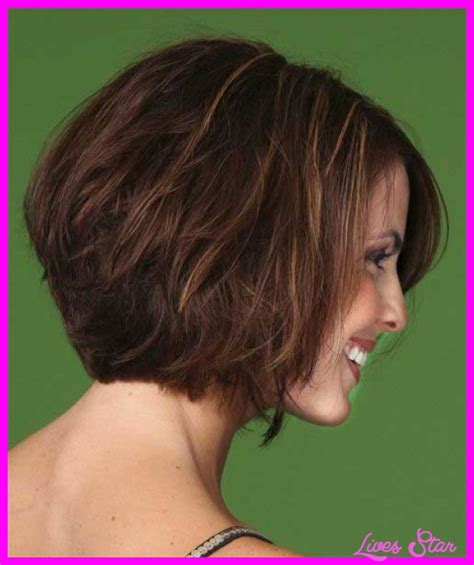 medium hair stacked in back short haircuts with stacked back livesstar com