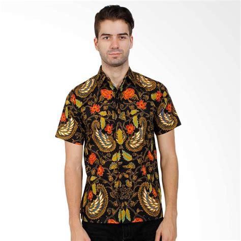 Kemeja Pria Cowok Ken Black Motof Batik jual rianty batik hem gibran kemeja pria black harga kualitas terjamin blibli