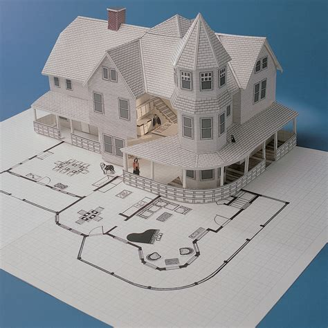 3d Home Kit Design Works by Design Works 3 D Home Kit All You Need To Construct A