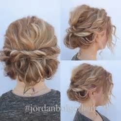 quick and easy prom hairstyles quick and cute updo for short hair lots of texture and so