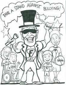 anti bullying color no bullying coloring pages printable coloring pages