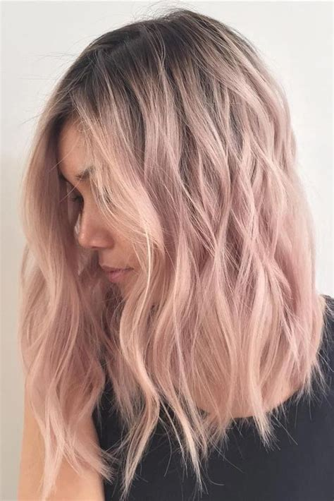 ombre hair color for medium length hair 30 chic everyday hairstyles for shoulder length hair