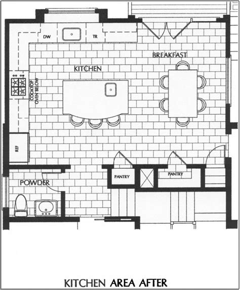 incridible bfffdaacc for kitchen floor plans on home