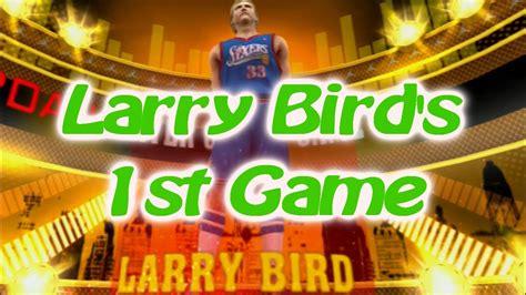 Mba 2k13 Larry Bird Rating by Nba 2k13 My Team Larry Bird 1st