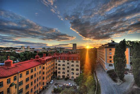 stockholm sunset   yesterday   trip