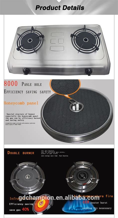 kitchen appliances parts 2015 hot sale gas stove parts kitchen appliances 2 burner