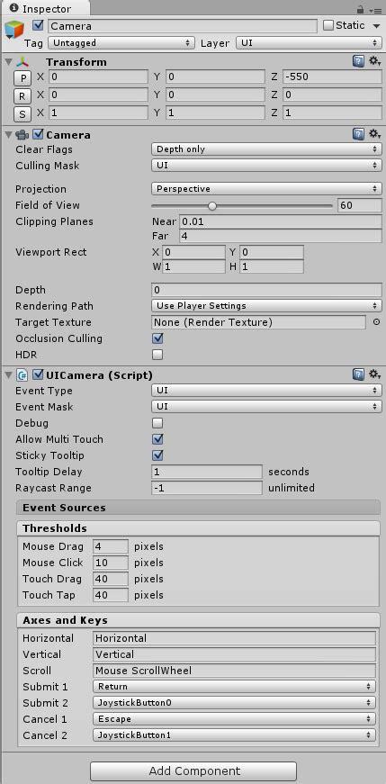 tutorial ngui unity ngui 3 x tutorial step10 3d