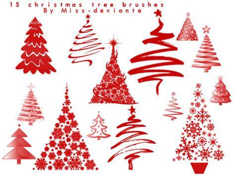 christmas pattern brushes photoshop 12 free christmas tree photoshop brushes