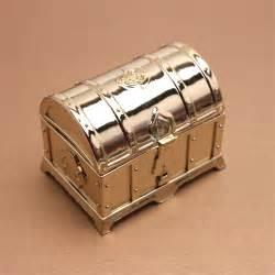 Treasure Box Favors by Gold Treasure Chest Favor Box 12 Pcs Unique Wedding