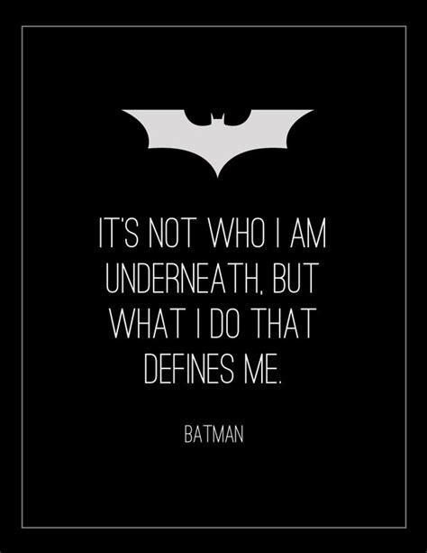 batman quote tattoo tumblr quot it s not who i am underneath quot batman begins 2005