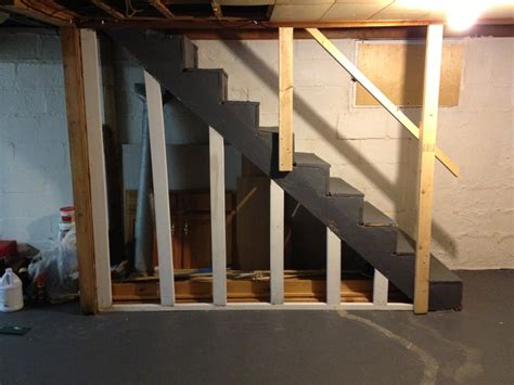 Space Ideas Basement Stairs Themoviegreen Basement Ideas For Basement Stairs