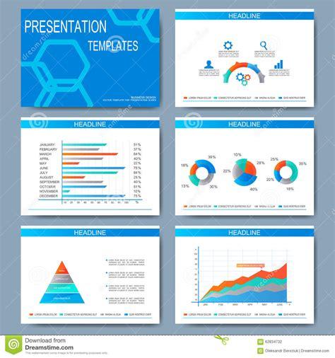 modern template report design table graph set of vector templates for presentation slides modern