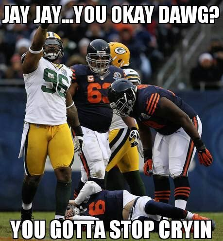 Packers Bears Memes - get your shot at 1 000 000 with fantasy football join
