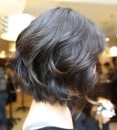 back view wavy bob for thick hair 2015 20 hottest short wavy hairstyles popular haircuts