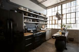 Loft Kitchen Ideas 31 Black Kitchen Ideas For The Bold Modern Home