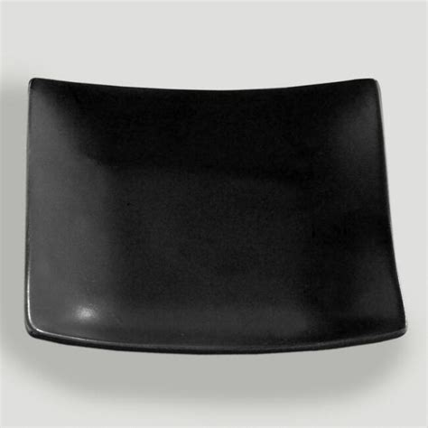 Large Candle Plate by Large Square Ceramic Candle Plate Set Of 2 World Market