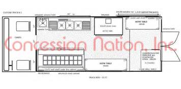 Food Truck Floor Plan by Alfa Img Showing Gt Mobile Food Truck Floor Plans
