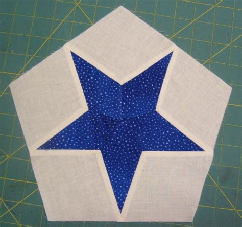 Five Pointed Quilt Pattern by 5 Point Quilt Patterns Patterns Kid