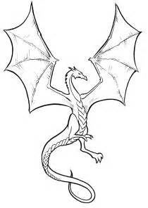 flying lizard coloring page download