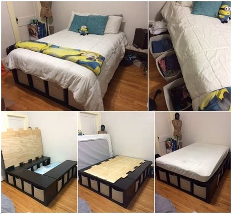 diy storage for small bedrooms 15 clever storage ideas for a small bedroom