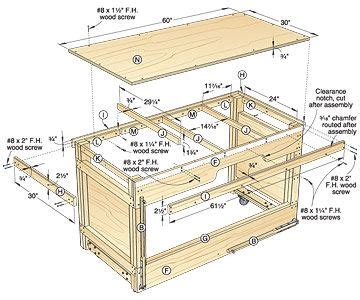 space saving double duty tablesaw workbench woodworking
