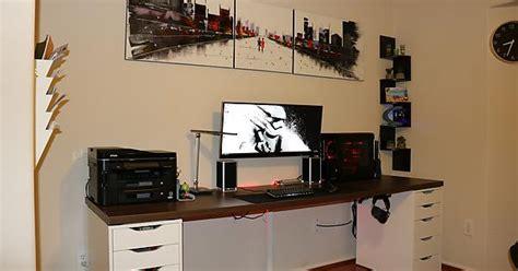ikea countertop desk reddit ikea style ultrawide battlestation battlestations