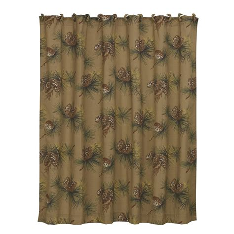 pinecone curtains hiend accents crestwood polyester pinecone shower curtain