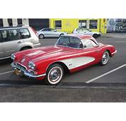 1958 Chevrolet Corvette C1 Convertible With