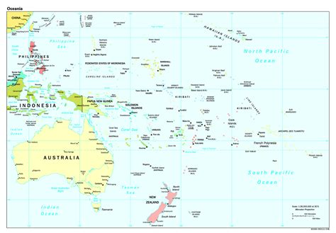 map of south pacific south pacific political map mapsof net