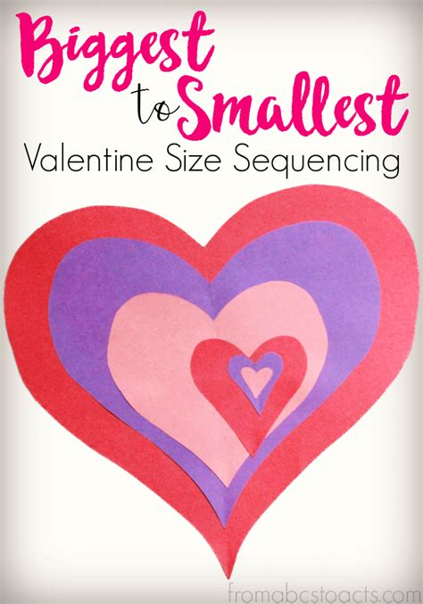 valentines day sequence s day size sequencing activity from abcs