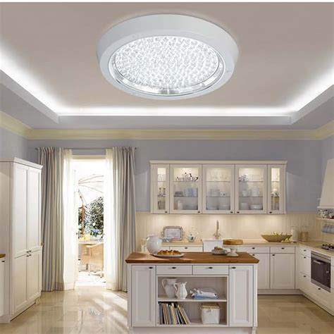 Kitchen Ceiling Lights Led Modern Kitchen Led Ceiling Light Surface Mounted Led Ceiling L Kitchen Balcony Bathroom