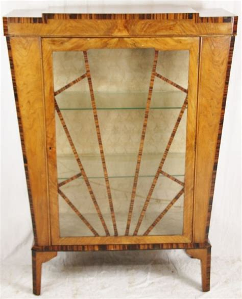 art nouveau china cabinet art deco china cabinet 213255 sellingantiques co uk