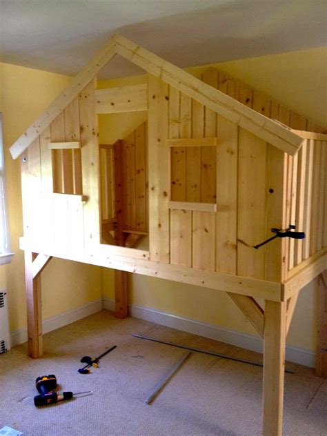 clubhouse loft bed  kids