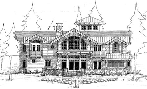 Simple Floor Plan Sketches To Reality Designing A Waterfront Home On Priest