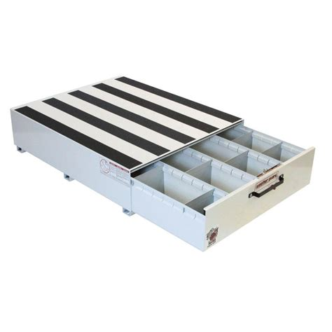 weather guard steel pack rat drawer unit in brite white