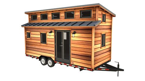 tiny house plans on wheels the cider box modern tiny house plans for your home on wheels