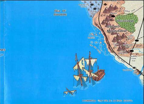 sea of swords the mapas