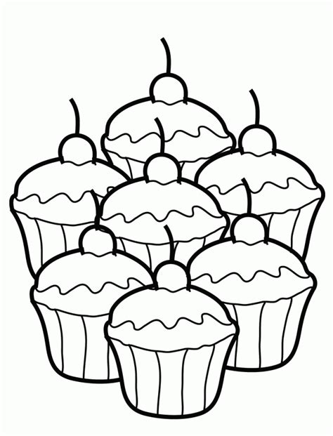cupcake coloring pages pdf cupcake coloring pages cookie coloring pages coloring