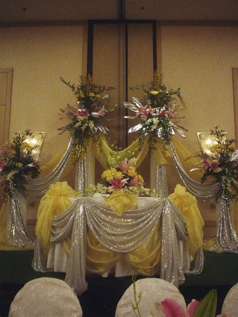 Yellow Flowers For Your Wedding