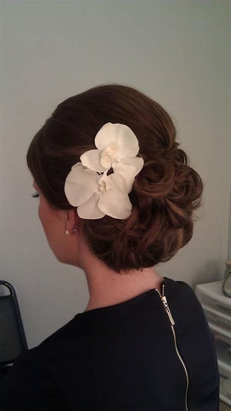 Wedding Hair With Orchids by 164 Best Images About Phalaenopsis Orchid Wedding Flowers