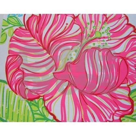 lilly pulitzer shower curtain hibiscus in lilly pulitzer shower curtain by itsaboutteetime