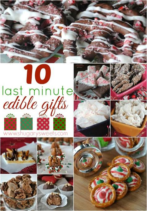 10 last minute christmas treats shugary sweets