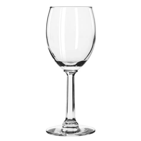 country glassware libbey 8766 6 5 oz napa country wine glass safedge