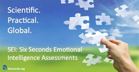 sei test sei emotional intelligence tests six seconds
